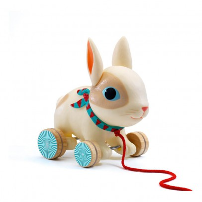 Djeco Colin Pull-Along Rabbit-listing