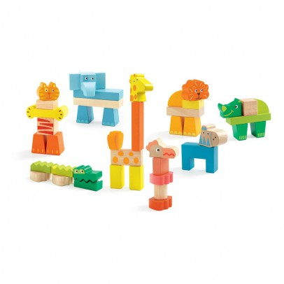 Djeco Créanimaux 42 Piece Learning Game-product