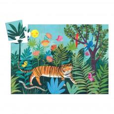 Djeco Tiger Walk 24 Piece Puzzle-listing