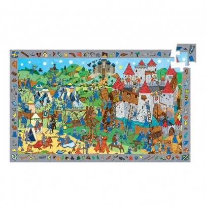 Djeco Puzzle Observation 54 pièces chevaliers-listing