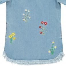 Stella McCartney Kids Robe Fleurs Brodées Bess-listing