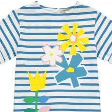 Stella McCartney Kids Isabella Floral Striped Dress-listing