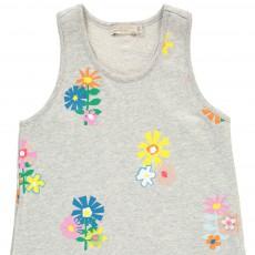 Stella McCartney Kids Robe Molleton Fleurs Lydia-listing