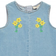 Stella McCartney Kids Top Flores Bordadas Violetta-listing