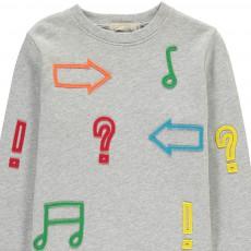 Stella McCartney Kids Biz Punctuation Sweatshirt-listing