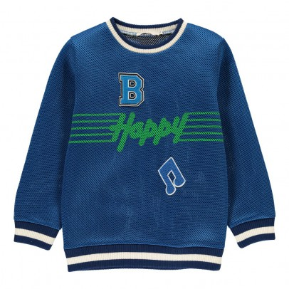 Stella McCartney Kids Felpa Happy-listing