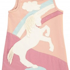 Stella McCartney Kids Deborah Unicorn Denim Dress-listing