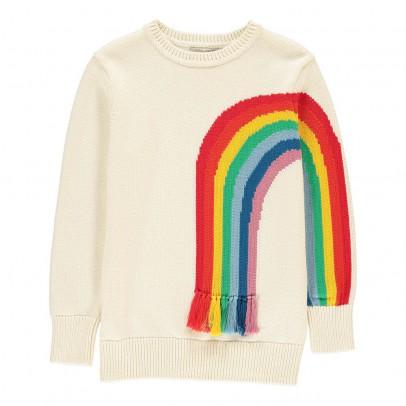 Stella McCartney Kids Pull Arc-En-Ciel Franges Pumpkin-listing