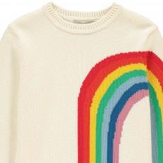 Stella McCartney Kids Pumpkin Rainbow Fringe Jumper-listing