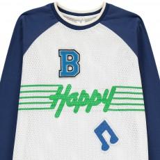 "Stella McCartney Kids Camiseta Bitejido ""Happy"" Max-listing"