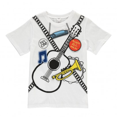 Stella McCartney Kids T-shirt musica Patch -listing