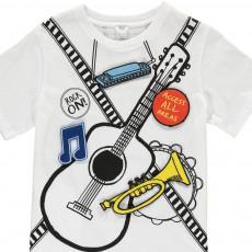Stella McCartney Kids T-Shirt Musique Patchs Repositionnables Arlo-listing