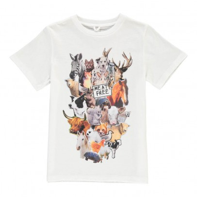 Stella McCartney Kids Chuckle Animal T-Shirt-listing