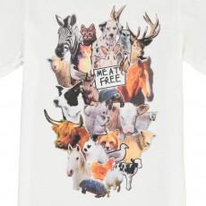 Stella McCartney Kids Camiseta Animales Chuckle-listing