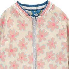 Stella McCartney Kids Cottonwood Floral Reversible College Jacket-product
