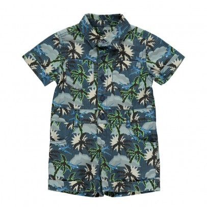 Stella McCartney Kids James Palm Tree Playsuit-product