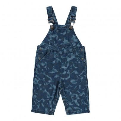 Stella McCartney Kids Salopette Chambray Camouflage Buzzby-listing