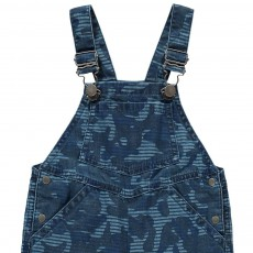 Stella McCartney Kids Buzzby Camouflage Chambray Dungarees-listing