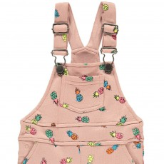 Stella McCartney Kids Salopette Courte Molleton Ananas Pookie-listing