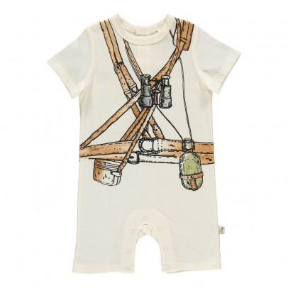 Stella McCartney Kids Kit Adventurer Trompe L'Œil Playsuit-listing