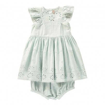 Stella McCartney Kids Sundae Broderie Anglaise Dress + Bloomers-listing