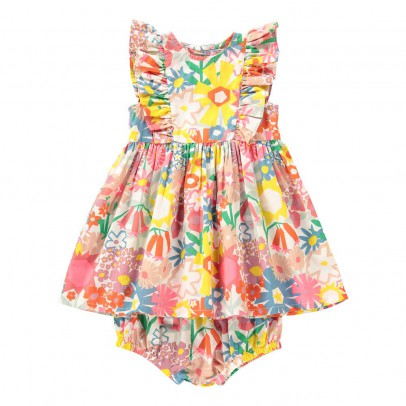 Stella McCartney Kids Vestito fiori + Bloomer -listing