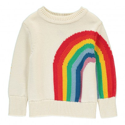 Stella McCartney Kids Pumpkin Rainbow Jumper-product