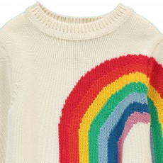 Stella McCartney Kids Pumpkin Rainbow Jumper-listing