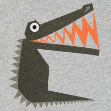 Stella McCartney Kids T-Shirt Krokodil Chuckle -product