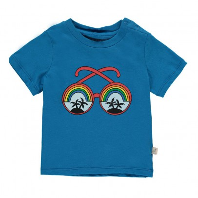 Stella McCartney Kids Chuckle Glasses T-Shirt-listing