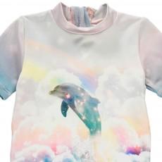 Stella McCartney Kids Sonny Dolphin Swimming Onesie-listing