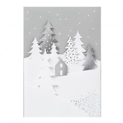 Räder Carte de vœux Forêt de sapins-listing