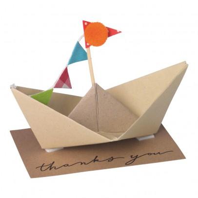Räder Carte postale à monter bateau-listing