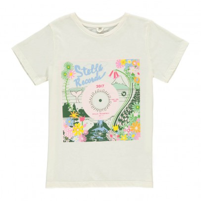 Stella McCartney Kids Camiseta Stella Records Arlow-listing