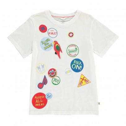 Stella McCartney Kids Arlo Patch T-Shirt-listing