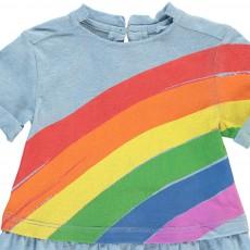 Stella McCartney Kids Kleid Regenbogen Jess -listing