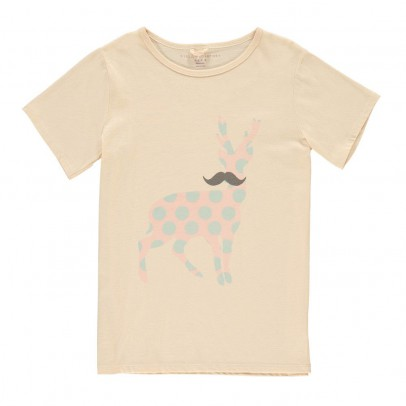 Stella McCartney Kids T-Shirt Cerf Pois Chuckle-listing
