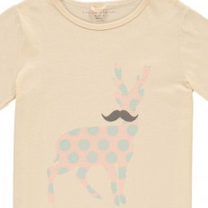 Stella McCartney Kids Chuckle Polka Dot Stag T-Shirt-listing