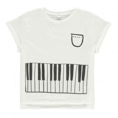 Stella McCartney Kids Camiseta Cropped Piano Plum-listing