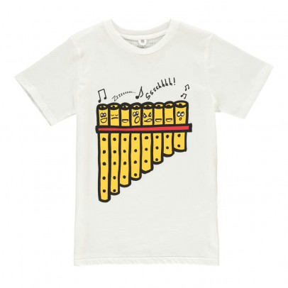 Stella McCartney Kids T-shirt Flauto di Pan-listing