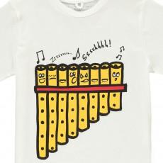 Stella McCartney Kids Chuckle Pan Flute T-Shirt-listing
