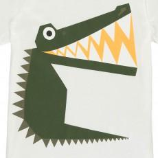 Stella McCartney Kids Arlo Crocodile T-Shirt-product