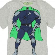 Stella McCartney Kids T-shirt trompe L'Œil Supereroe-listing