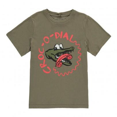 Stella McCartney Kids Arrow Crocodiale T-Shirt-listing