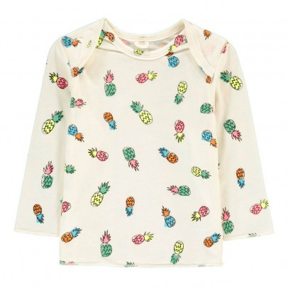 Stella McCartney Kids Buster Pineapple T-Shirt-listing