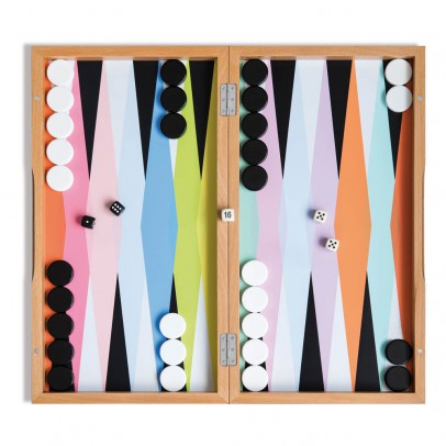 Remember Juego de Backgammon en madera-listing