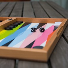 Remember Wooden Backgammon Game-listing