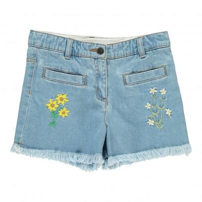 Stella McCartney Kids Short Flores Bordadas Marlin-listing