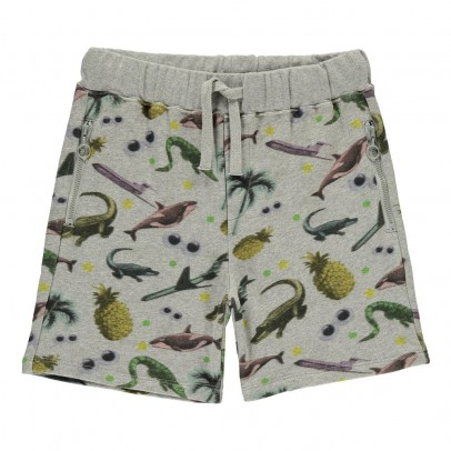 Stella McCartney Kids Josh Tropical Mottled Shorts-listing
