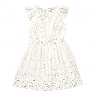 Stella McCartney Kids Alabama Broderie Anglaise Dress-listing